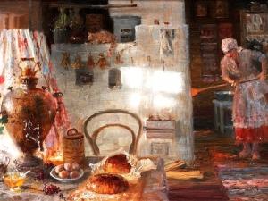 Выставка «Некрасна изба углами, акрасна пирогами: традиции гостеприимства наРуси»