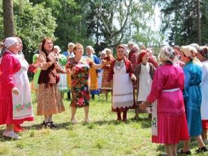 Участие НБУР вудмуртском национальном празднике Гербер