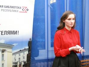 Встреча сижевским поэтом Анной Глуховой влитгостиной «Книжная среда»