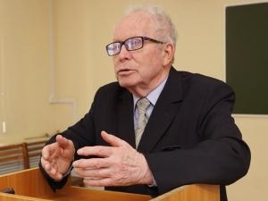 Лекция профессора В. В. Туганаева вНациональной библиотеке УР