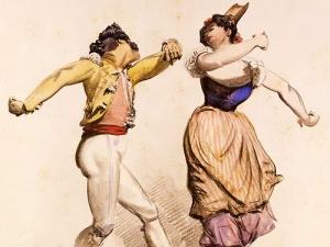Выставка «Итальянский народный танец»