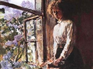 """Выставка-инсталляция «""""Любимых окон негасимый свет"""": окна вискусстве»"""