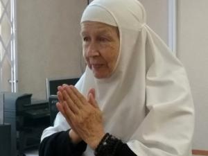 Встреча с монахиней Марией (Литвиновой), насельницей Свято-Елисаветинского монастыря (г. Минск)