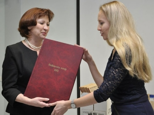 "First Edition of ""Vojnays Ivor"" Newspaper Donated to National Library of Udmurt Republic"