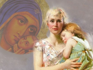 Открытие выставки-просмотра «Уматерей святая должность вмире...»