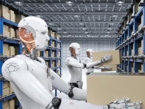 Книжная выставка «Роботы иавтоматизация производства»