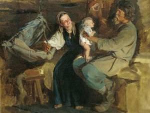 Книжная выставка «Домашний быт исемейный уклад русского народа»