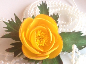 Мастер-класс поизготовлению цветка италмаса изфоамирана