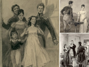 Выставка «Семья в зеркале книжной иллюстрации»