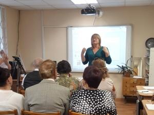 Специалисты Центра обучения идоступа кИнтернету– членам Литературного клуба