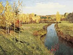 To Isaak Levitan's 155th Anniversary