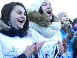 Всероссийский танцевальный флешмоб «Голубая лента– 2019»