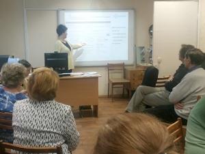 Информационное сопровождение заседания Литературного клуба приРусской секции СПУР