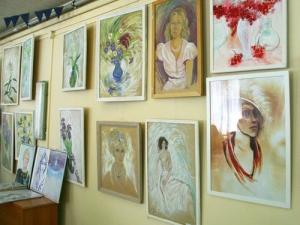 Открытие выставки картин Галины Рязановой «Утверждаю жизнь»