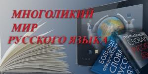 Многоликий мир русского языка