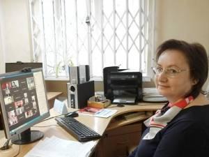 Йӧскалык лыдӟиськоннилэн директорезлэн Калыккуспо библиотечной онлайн-форуме пыриськемез