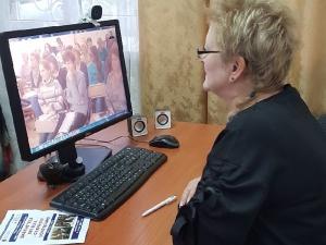 Вебинар «Современная библиотека гражданам старшего возраста» для библиотекарей Глазовского района