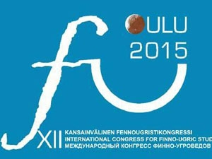 Participation in XII International Congress for Finno-Ugric Studies