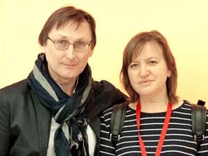 Встреча влитгостиной «Книжная среда» смосковскими писателями В.Лебедевой иА.Турхановым