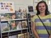 Выездная книжная выставка из фонда Национальной библиотекиУР «Без кота ижизнь нета»