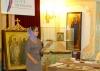 Открытие выставки-просмотра «Образы русских святых влитературе ииконописи»