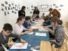 Первые занятия врамках проекта «Искусство имир вокруг нас» дляшкольников сОВЗ